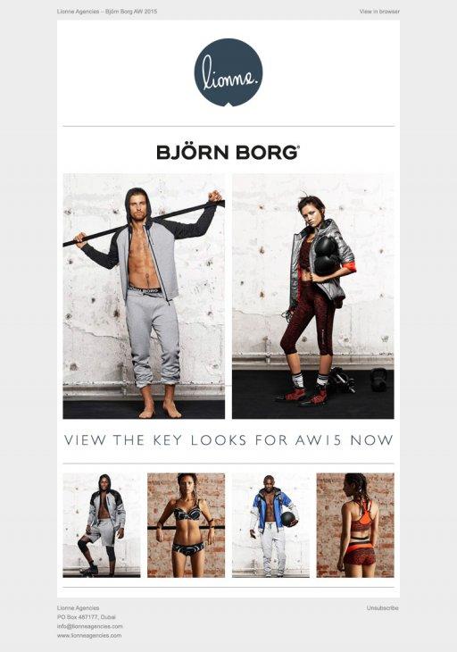 Lionne Bjorn Borg Lookbook Email Mark Hinxman